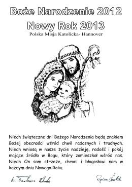 Hannover Niech świąteczne dni Bożego Narodzenia będą znakiem