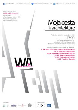 plagát v PDF - Fakulta architektúry STU
