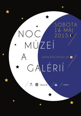 plagat noc muzei.indd - Zväz múzeí na Slovensku