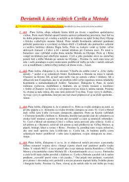 Deviatnik_k_sv. Cyrilovi a Metodovi