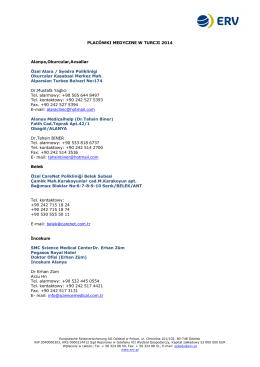 Lista startowa według konkurencji - Twardziel LECH-MORS