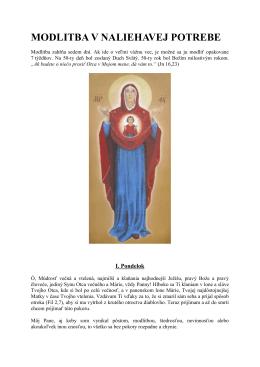 MODLITBA V NALIEHAVEJ POTREBE.pdf 282kB