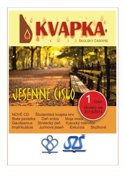 Jesenné číslo 2013/2014 - Pedagogická a sociálna akadémia sv