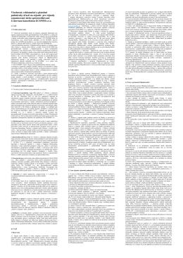 Všeobecné, reklamačné a platobné podmienky účasti na zájazde