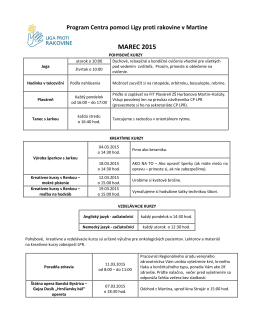marec 2015.pdf - Liga proti rakovine