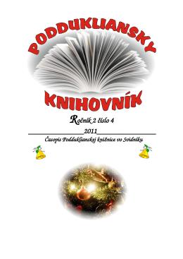 Ročník 2 číslo 4 - Podduklianska knižnica vo Svidníku