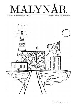 1.časopis - Malynár