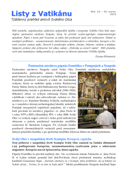Listy z Vatikánu