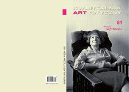 Szymborska - Kwartalnik Artystyczny