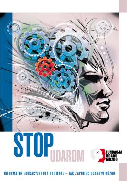 Broszura informacyjna STOP UDAROM. Informator