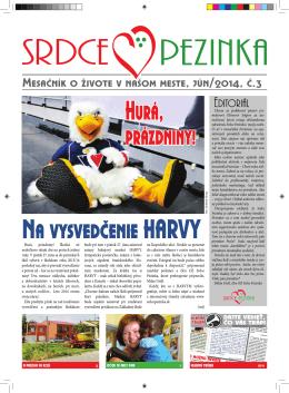 Jún 2014 - Srdce Pezinka