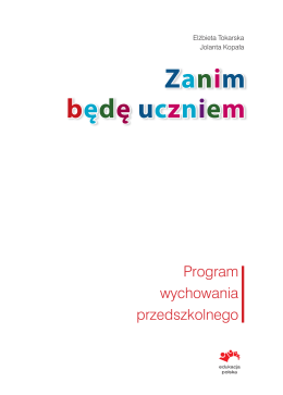 Zanim będę uczniem - Zielonapolnutka.pl