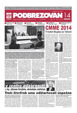 CMME 2014 - Podbrezovan