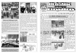 30. výročie lyžovania na Ahoji Vydarený fašiangový