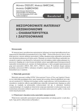 Rozdział 3 - Zakład Technologii Chemicznej UMCS