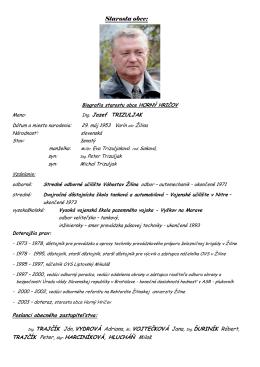 2010  - Horný Hričov