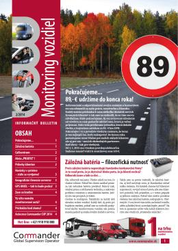 Informačný bulletin II/2014