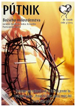 Časopis Pútnik 3/2013 - Farnosť Partizánske – mesto