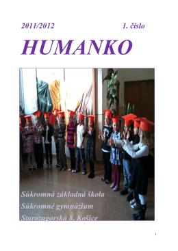 Humanko 2011/2012 - Súkromná škola HUMAN