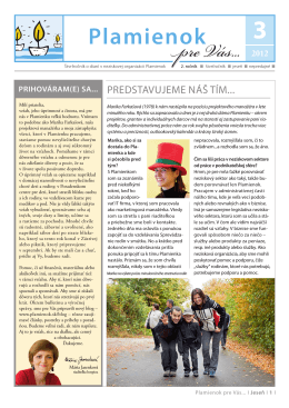 noviny plamienok jesen 2012 1def