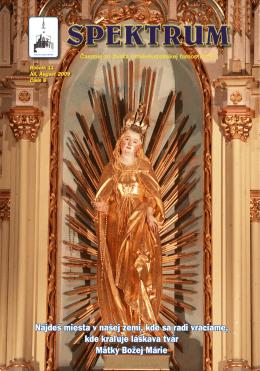 Spektrum č. 06.indd - Rímskokatolícka farnosť Víťaz