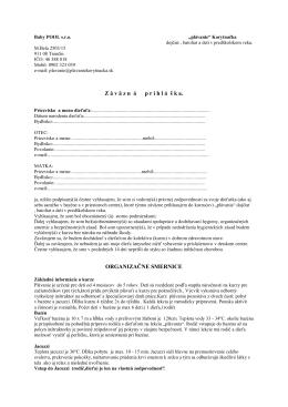 """na vytlačenie a dopísanie """"rukou"""" – PDF formát"""