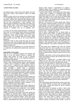 Leonard Read – Ja, ceruzka www.hayek.sk
