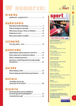 Sport Paraolimpijski 4/2014