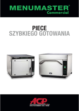 PIECE SZYBKIEGO GOTOWANIA