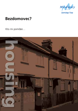 Bezdomovec? - Medway Council