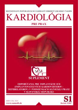 Implantácia ICD - Slovenská asociácia srdcových arytmií