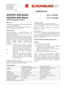 ASOFLEX-AKB-Boden ASOFLEX-AKB-Wand