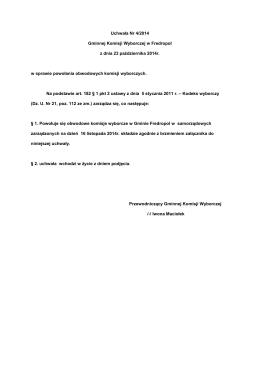 Wniosek o dofinansowanie do ZSS UW