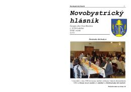 Novobystrický hlásnik 09 (október)
