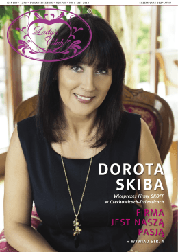 DOROTA SKIBA - Ladys Club Magazyn