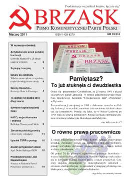 2011/03 - Komunistyczna Partia Polski
