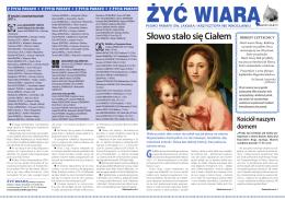 Słowo stało się Ciałem - Parafia św. Jakuba i Krzysztofa we Wrocławiu