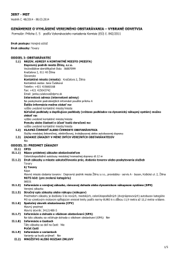 MST - Dopravný podnik mesta Žiliny sro