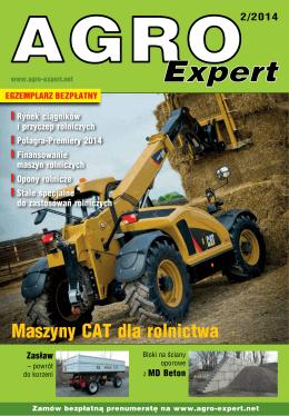 Maszyny CAT dla rolnictwa