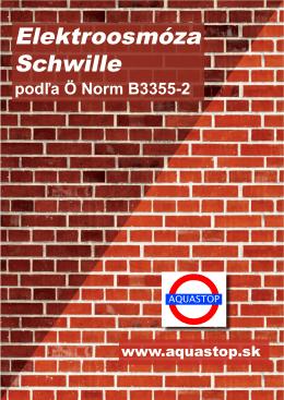 Elektroosmóza Schwille