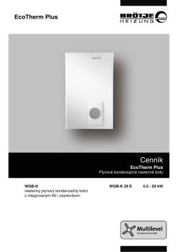 Cenník - Calorim.Sk