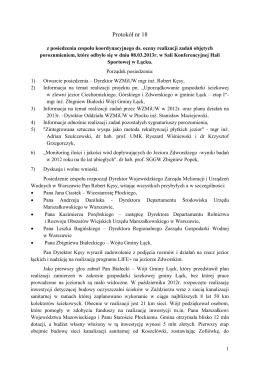 Protokół nr 18 - wzmiuw.waw.pl