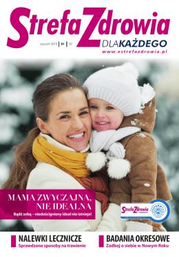 Styczeń 2015 - Strefa Zdrowia dla Każdego