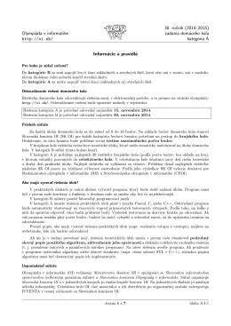 formát .pdf - Olympiáda v informatike