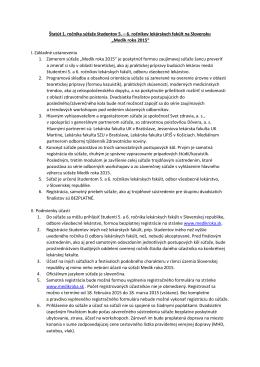 Stiahnúť v PDF - Medik Roka 2015