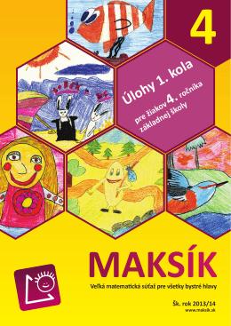 MAKSÍK 4 - 1. kolo.indd