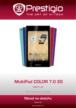 MultiPad COLOR 7.0 3G