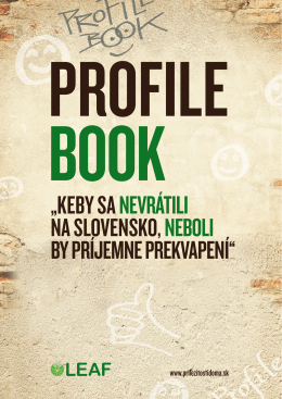 LEAF Profile Book