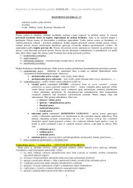 Právny systém a jeho odvetvia - Zmaturuj.sk