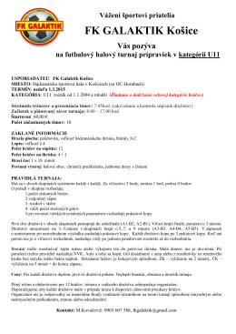 FK GALAKTIK Košice